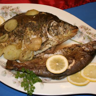Baked Carp & Trout