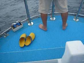 """Photo: 礼儀正しい""""カワシタさん"""" 靴で上がってもいいんですよ!"""