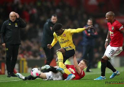 Arsenal tient Manchester United en échec, à quelques jours du Standard