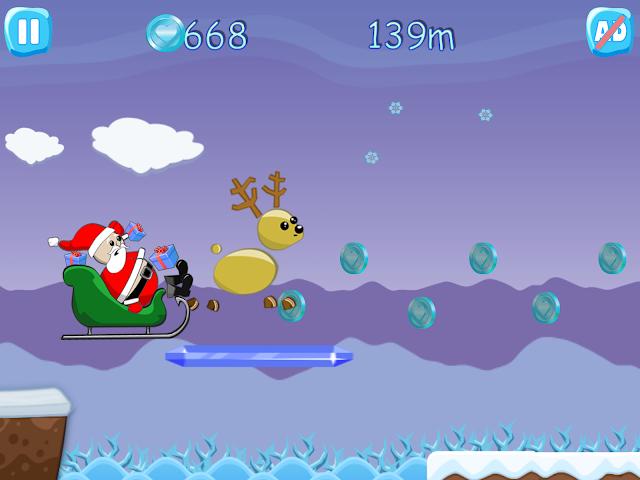 android Xmas Ride - Santa Escape Screenshot 1