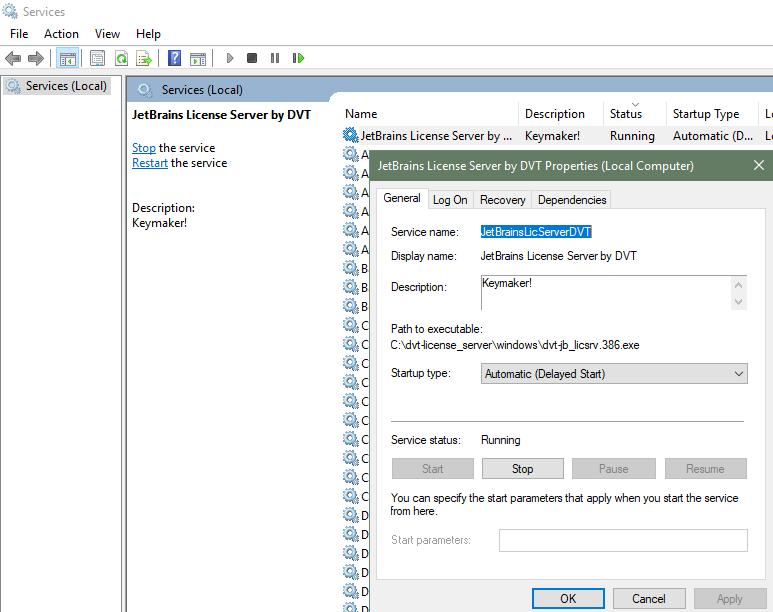 Cài đặt JetBrains PhpStorm với services