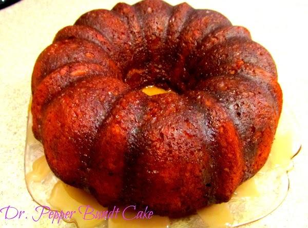 Dr. Pepper Bundt Cake Recipe