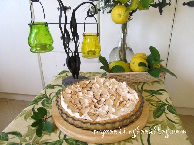 Лимонов тарт с меренг