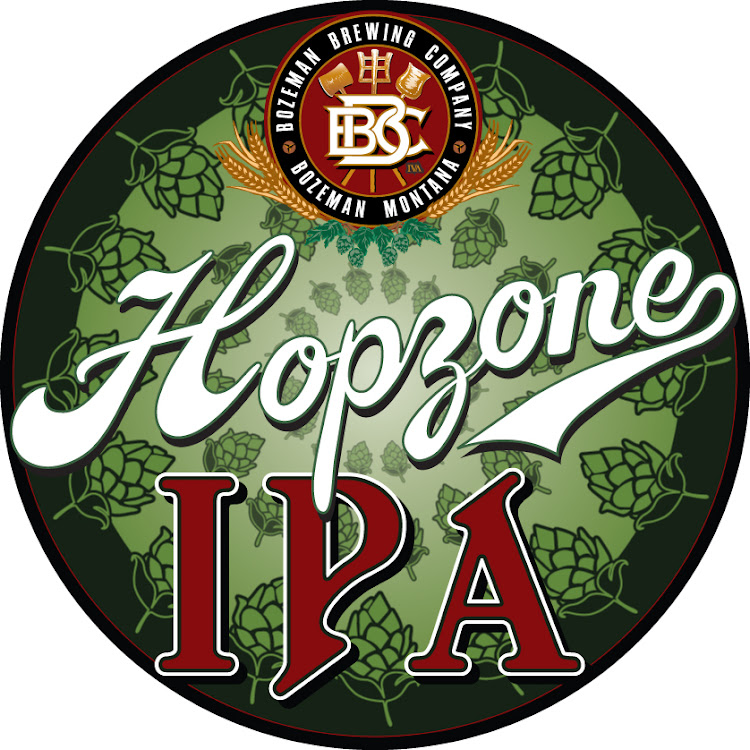 Logo of Bozeman Brewing Co. Hopzone IPA