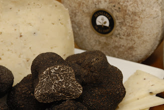 Photo: Cheese with Black Truffle By Manjares de la Tierra http://www.manjaresdelatierra.com/en/productos.php