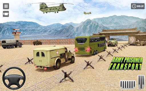 Army Bus Driver – US Military Coach Simulator 3D ss2