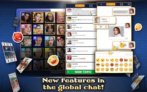 VIP Tarot - Free French Tarot Online Card Game 3.6.17 screenshots 11