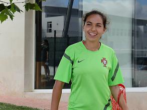 Photo: Jogadora de A-dos-Francos na seleção sub19