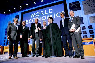 Photo: DAVOS/SWITZERLAND, 27JAN07 - (fltr) Abdullah Guel, Deputy Prime Minister and Minister of Foreign Affairs of Turkey, Adil Abd al-Mahdi, Vice-President of Iraq, Ahmed Mahmoud Nazif, Prime Minister of Egypt Adil Abd al-Mahdi, Vice-President of Iraq, David Ignatius, Associate Editor and Columnist, The Washington Post, USA, Mohammad Khatami, President of the Islamic Republic of Iran (1997-2005), John F. Kerry, Senator from Massachusetts (Democrat), USA, Amre Moussa, Secretary-General, League of Arab States, Egypt, captured during the session 'The Future of the Middle East' at the Annual Meeting 2007 of the World Economic Forum in Davos, Switzerland, January 27, 2007. Copyright by World Economic Forum     swiss-image.ch/Photo by Yoshiko Kusano  +++No resale, no archive+++