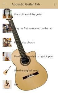 Acoustic Guitar Tab - náhled