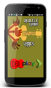 Ukulele Chord and Lyrics - náhled