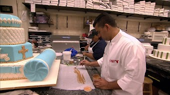 Chandelier Cake & a Christening