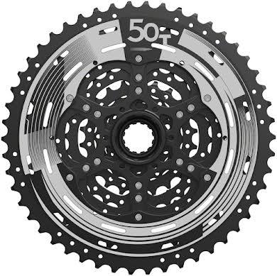 Sun Race M993 Cassette - 9 Speed, 11-50t, ED Black, Alloy Spider and Lockring alternate image 0