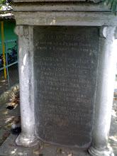 Photo: Fourbeck's Bridge monument - Saidapet