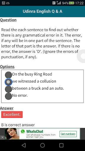 English Questions Answers