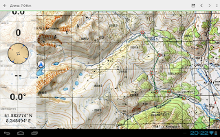 Screenshot of Soviet Military Maps Pro