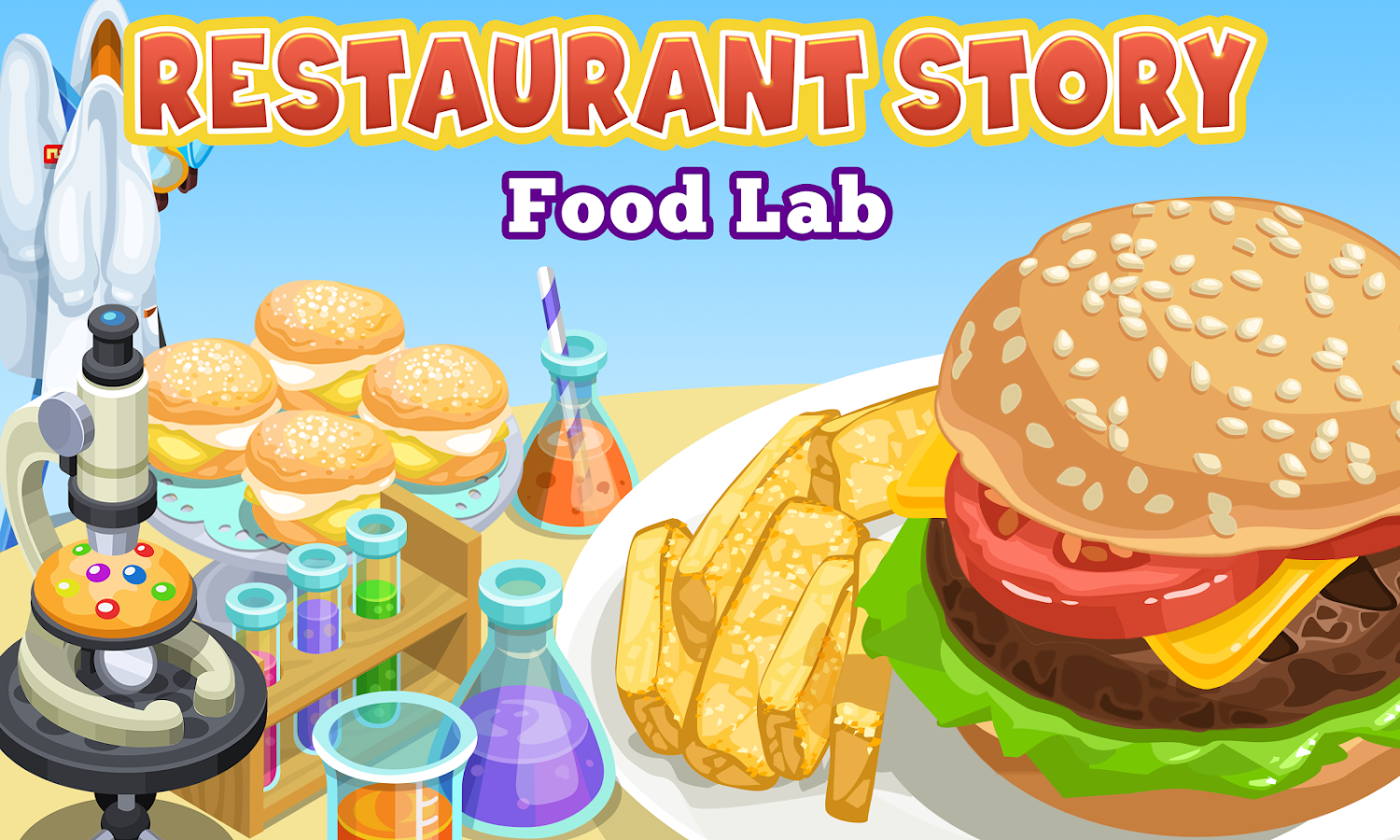 Home Design Story Teamlava Games Restaurant Story Food Lab Android Apps On Google Play
