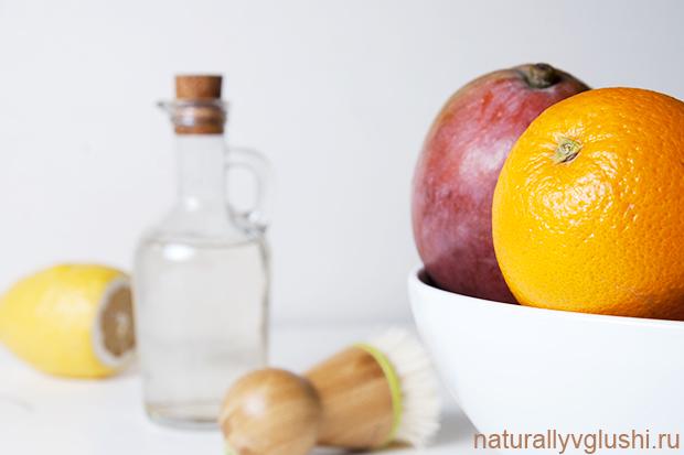 Средство для мытья овощей | Блог Naturally в глуши