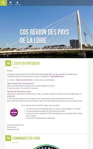 COS Région Pays de la Loire screenshot 1