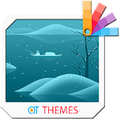 Winter Fishing Xperia Theme Android APK Download Free By QT THEMES