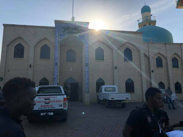 Three men were brutally attacked at a Verulam mosque on Thursday.
