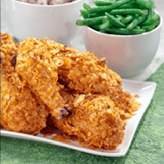 Crispy Baked Chicken Drumsticks.