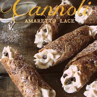 Amaretto Lace Cannoli