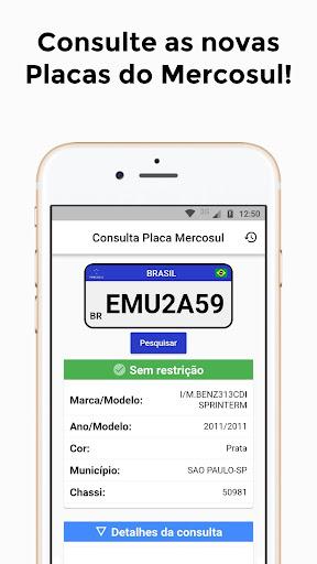 Foto do Consulta Placa Mercosul