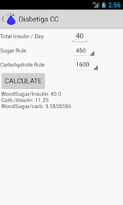 Diabetiga Cals & Carbs Tracker screenshot 7