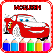 Cars Coloring Book For mcqueen