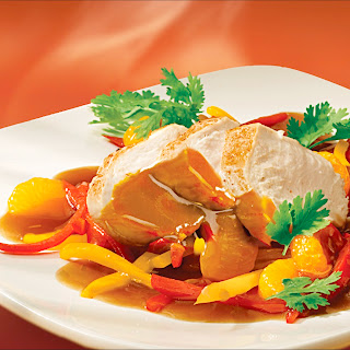 Mandarinen-Sojasauce z. B. zu Hähnchenbrustfilet
