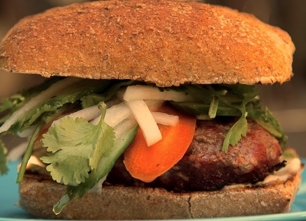 Saigon Bistro Burger Extraordinaire Recipe