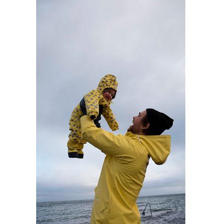 Kattnakken Regnoverall Baby Fiskestim Lemon