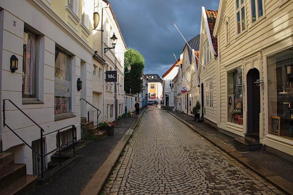 Uliczki starego Bergen