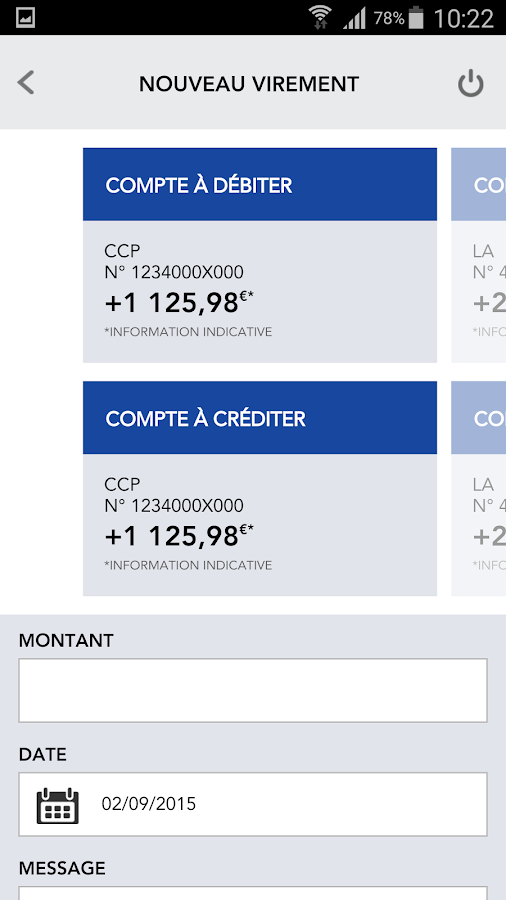 La Banque Postale- screenshot
