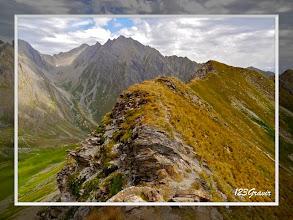 Photo: Roignais au sommet du Mont Rosset