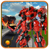 Transform Superhero Robot 3D