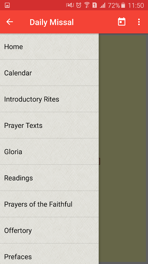 The Daily Missal- screenshot