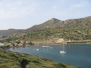 Photo: Knidos with ruins in background