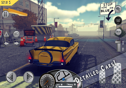 Taxi Simulator 1976 Pro Screenshot