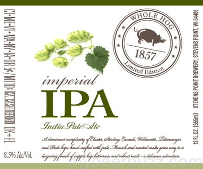 Logo of Stevens Point Whole Hog Imperial IPA