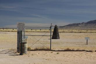 Photo: Trinity Site gate