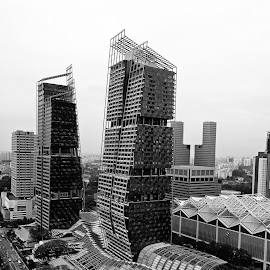 by J W - Black & White Buildings & Architecture
