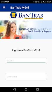BanTrab Móvil - náhled