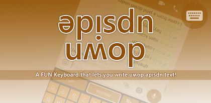 Upside Down Keyboard