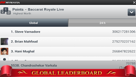 Baccarat Live - Punto Banco- screenshot thumbnail