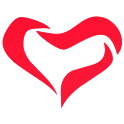 Cancer and heart icon