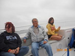 Photo: PĐ trên thuyền
