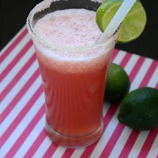 Pink Grapefruit Slushy.