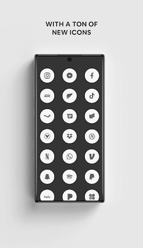 White - A Flatcon Icon Pack screenshots 2